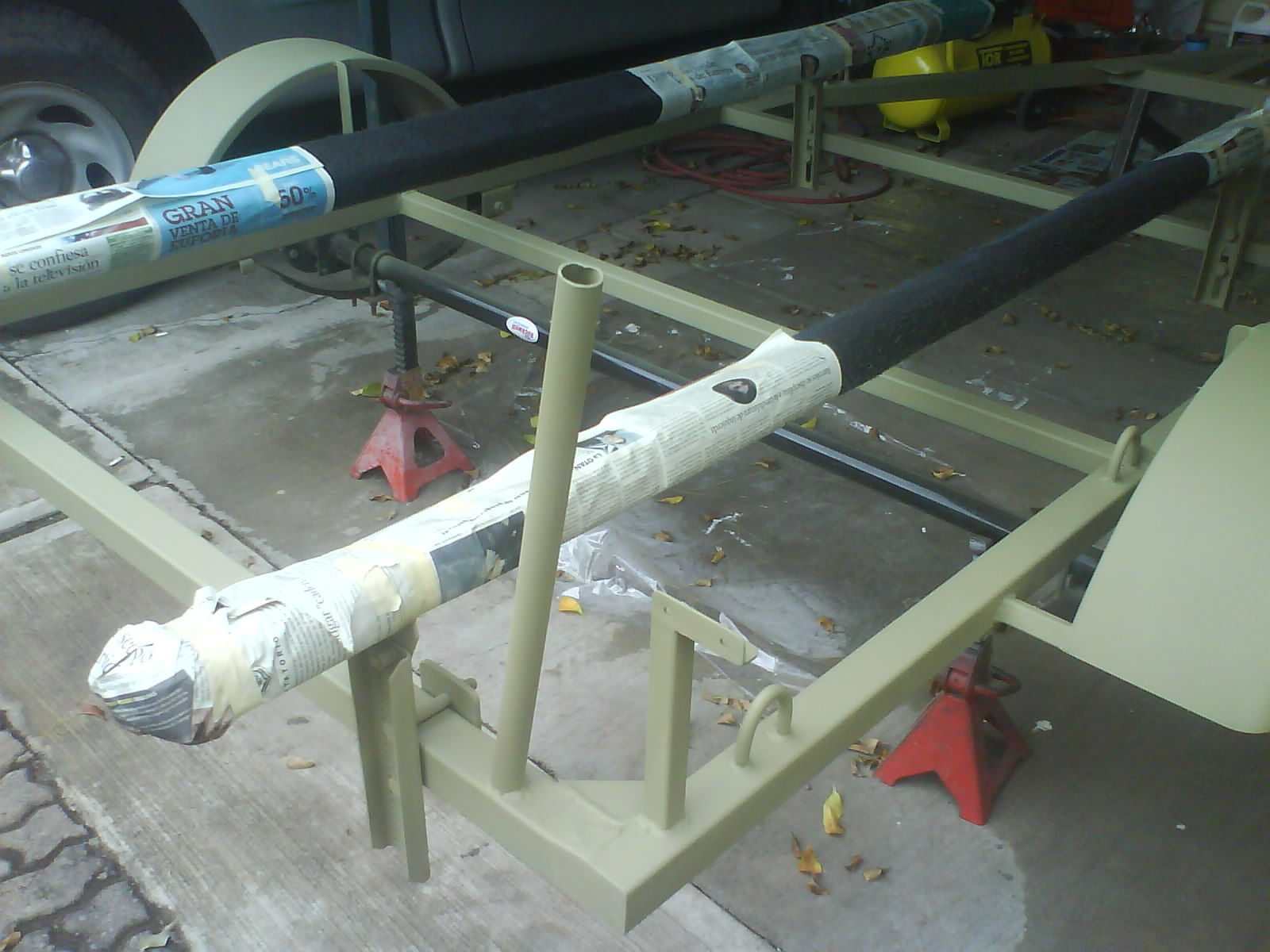 Proyecto De Construcci 243 N De Remolque Para Lancha